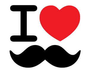 bigote, fashion, and girl image