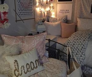 bedroom and dorm image