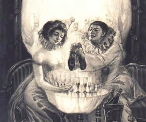 skull, illusion, and art image