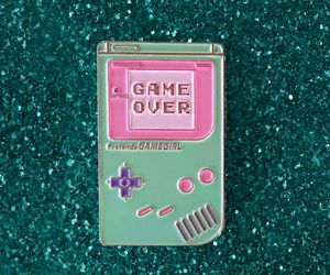 game, gameboy, and game over image