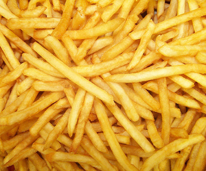 food, fries, and French Fries image