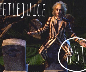 beetlejuice, michael keaton, and movie image