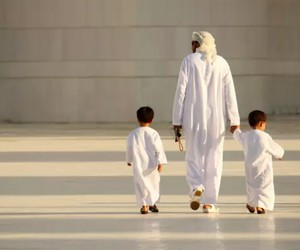 muslim, father, and islam image