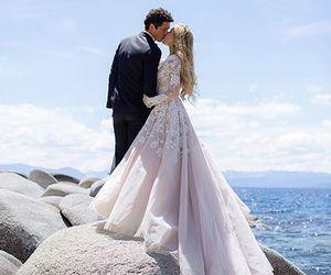 wedding, dress, and photography image