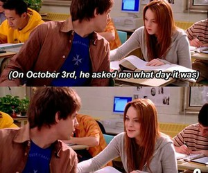 mean girls, october, and movie image