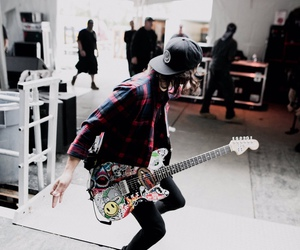 pierce the veil, bands, and guitar image