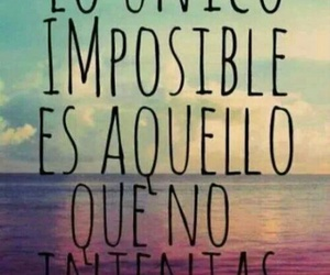 frases, impossible, and motivation image