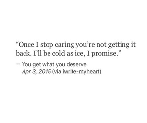 care, cold, and promise image