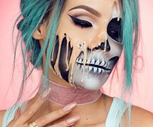 Halloween, makeup, and youtube image