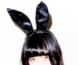 aesthetic, bunny, and bunny ears image