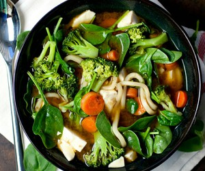 food, soup, and healthy image