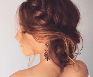 cabelo, noiva, and penteado image