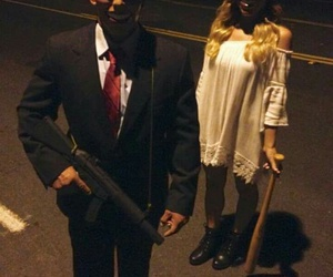 Halloween and the purge image