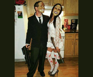 Halloween, disfraces, and the purge image