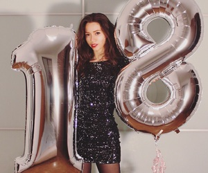 18, birthday party, and elegant image