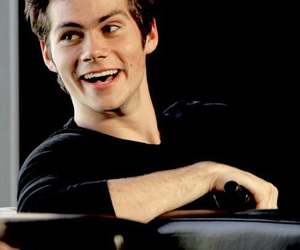 teen wolf, dylan o'brien, and smile image