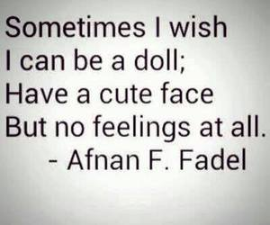doll, feelings, and cute image