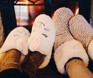 cozy, autumn, and socks image