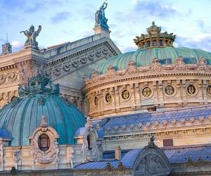 architecture, paris, and art image