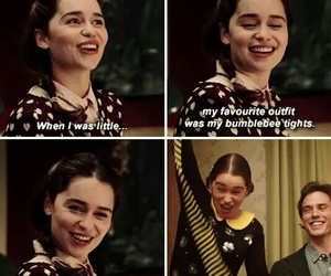 sam claflin, emilia clarke, and love image