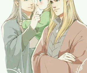 fan art, Legolas, and thranduil image