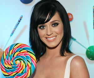 katy perry, lollipop, and smile image