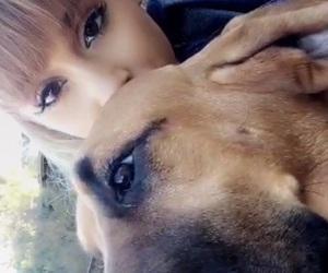dog, ariana grande, and cute image
