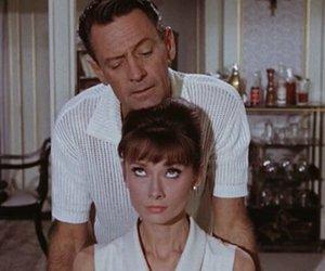 1964, audrey hepburn, and movie image
