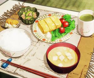 anime, food, and HAL image