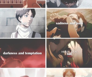 anime, eren, and snk image