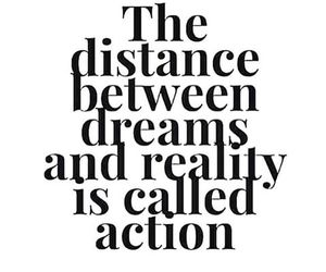 Action, Dream, and reality image