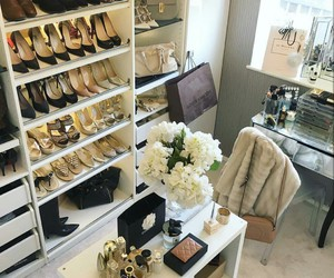luxury, shoes, and closet image