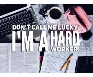 school, lucky, and motivation image