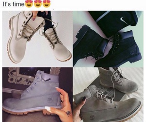 beige, black, and boots image