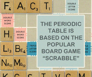 photo, science, and scrabble image
