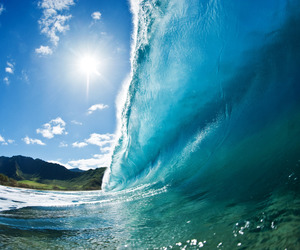 ocean, photo, and wave image