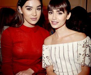 paris fashion week and lily collins image