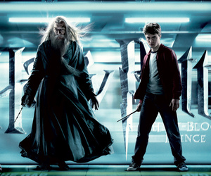 harry potter, harry, and albus silente image
