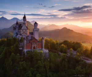 beautiful, landscape, and castle image