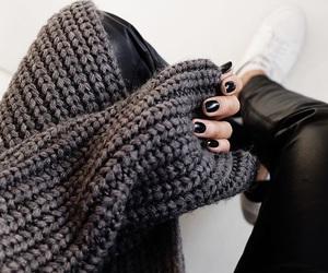fashion, black, and nails image