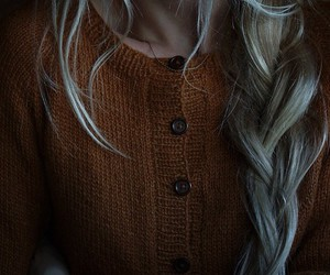 autumn, fashion, and hair image