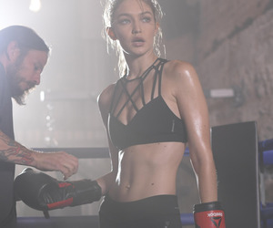 gigi hadid, model, and sport image