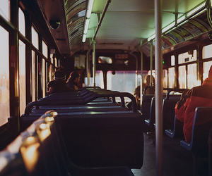 bus, photography, and hipster image