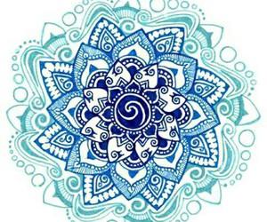 mandala, blue, and art image