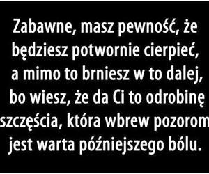 cytaty, polskie, and cierpienie image
