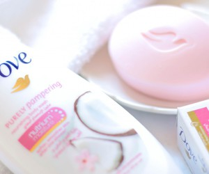 beauty, dove, and skin care image