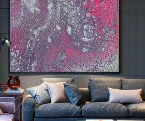 Abstract Painting, art prints, and silver image