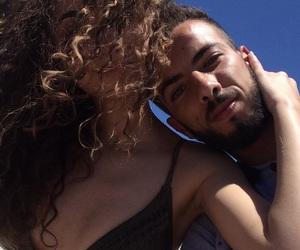blue sky, summer, and lové image