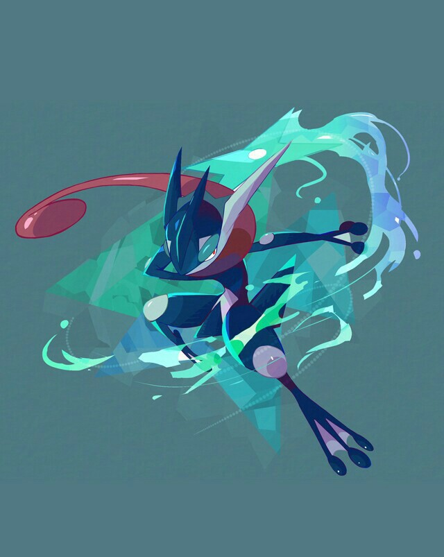 pokemon and greninja image
