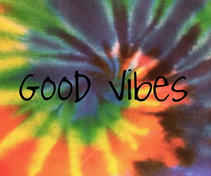 colors, rainbow, and good vibes image